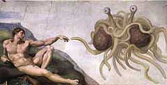 Touched by his Noodly Appendage: Die Pastafarians und His Spaghettiness of Jersey